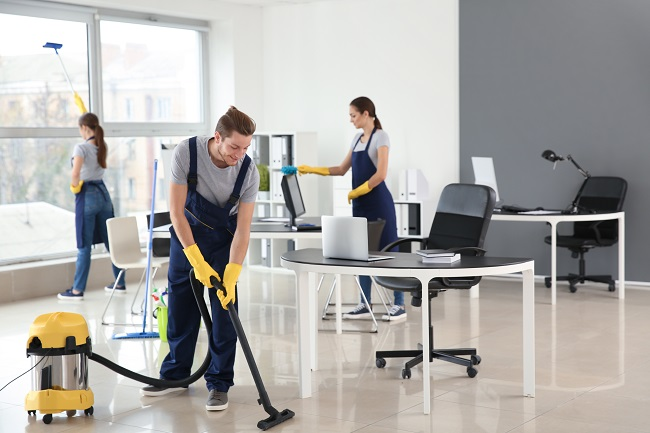 Daily, Weekly, and Monthly Commercial Office Cleaning Checklist