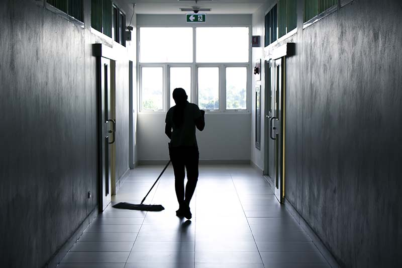 School Janitorial Cleaning Services for Parents Day