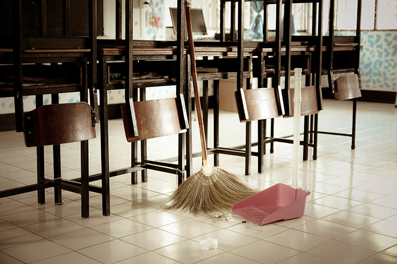 Why Should You Outsource Your School's Janitorial Cleaning Services?