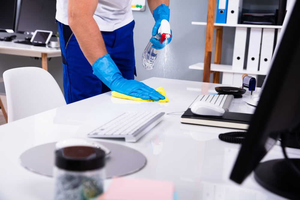 10-Point Commercial Office Cleaning Checklist for Challenging Times