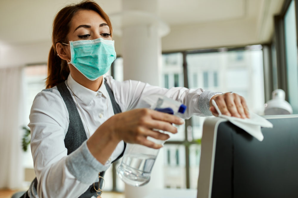 Disinfect Safely with Commercial Office Cleaning